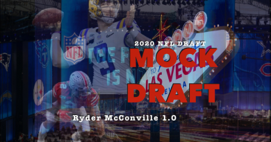 2020 NFL Mock Draft – Ryder McConville 1.0 (Two Rounds)